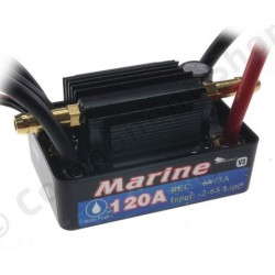 ESC 120A marine wateroroof pour moteur brushless